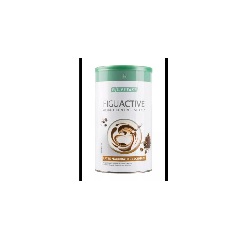 Figu Аctive Растворимый коктейль для контроля веса латте-макиато