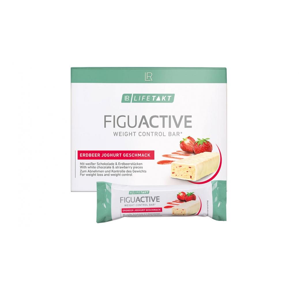 Figu Active Батончик для контроля веса с клубнично-йогуртовым вкусом