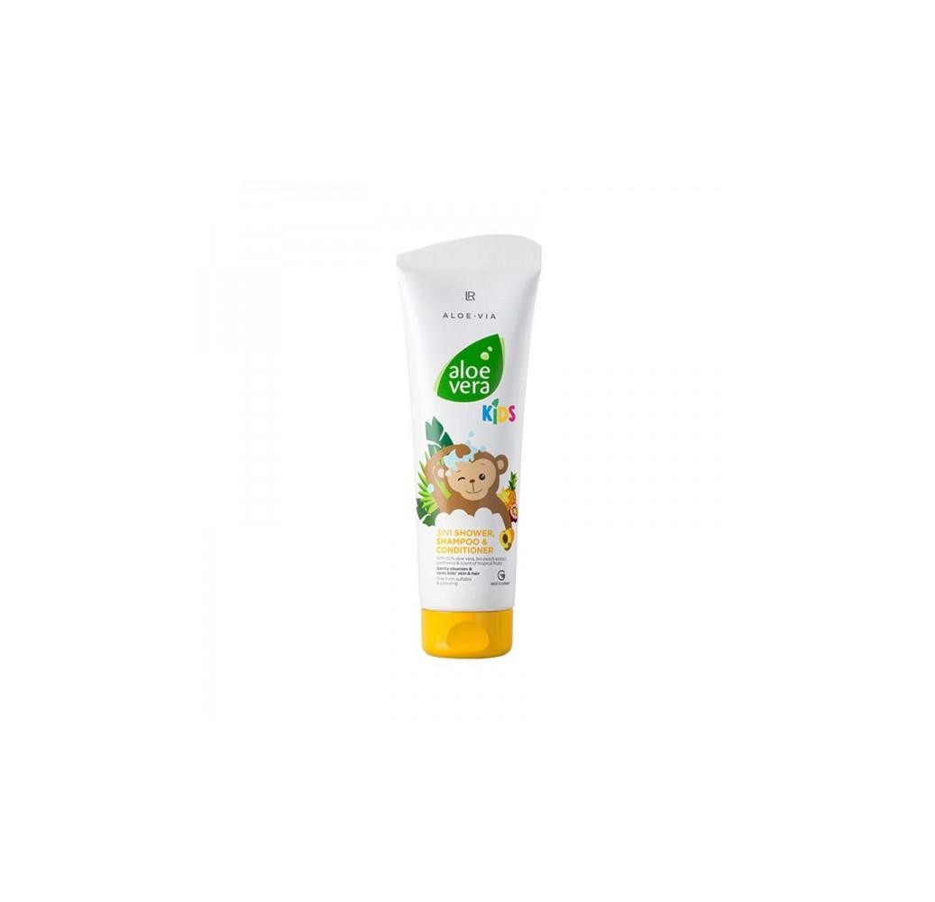 Aloe Vera Kids Шампунь-кондиционер для волос и тела